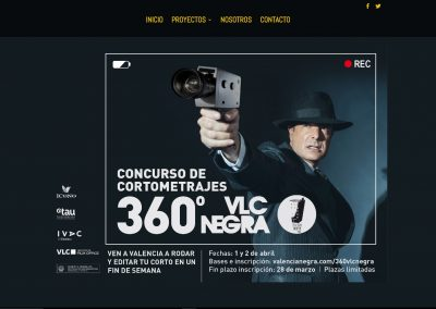 Tercera Planta Films - Web 360VLCNEGRA - Capturas de pantalla
