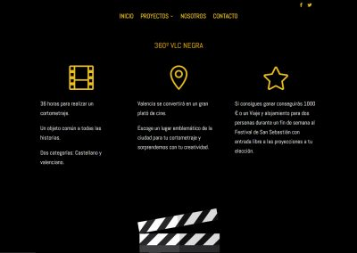 Tercera Planta Films - Web 360VLCNEGRA - Capturas de pantalla 3