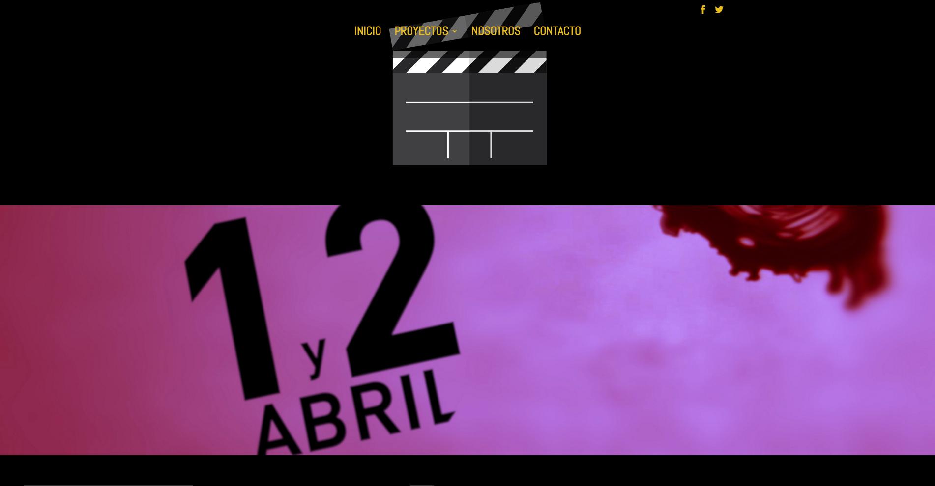 Tercera Planta Films - Web 360VLCNEGRA - Capturas de pantalla 4