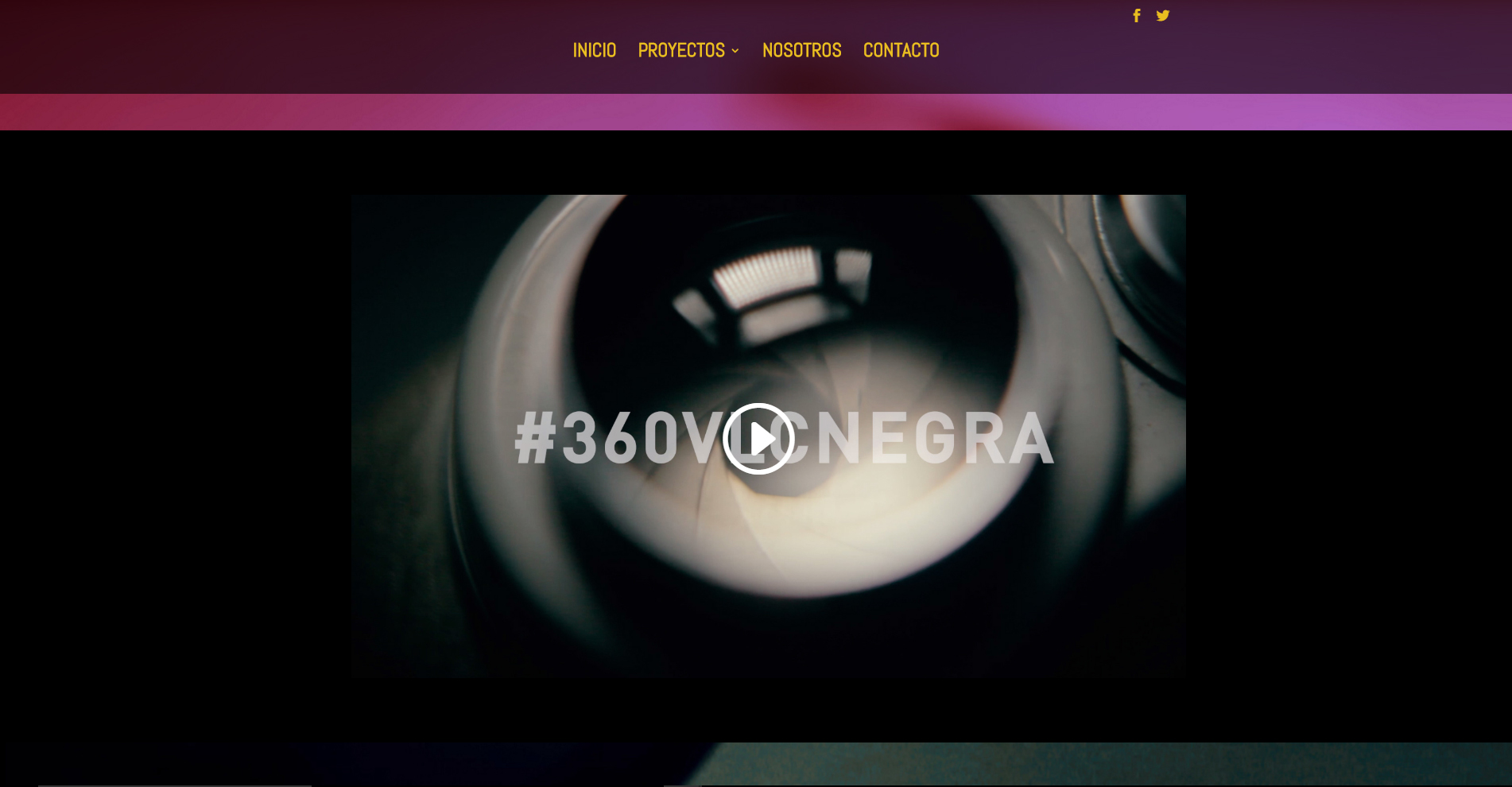 Tercera Planta Films - Web 360VLCNEGRA - Capturas de pantalla 5