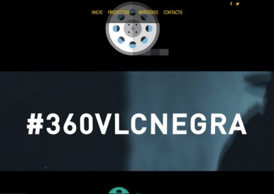 Tercera Planta Films - Web 360VLCNEGRA - Capturas de pantalla 8